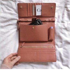 JW Pei Rose Flap Wallet